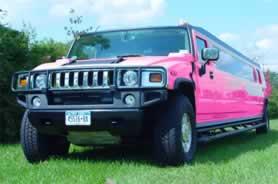 Pink Hummer Limousine